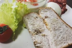 2017-05-02 くるみトースト