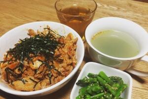 2017-05-03 豚キムチ丼