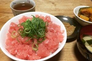 2017-05-12 ネギトロ丼