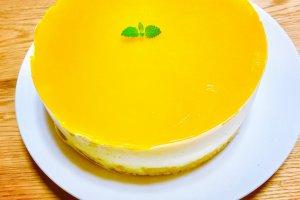 2017-06-02 マンゴーチーズケーキ