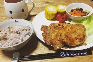 2017-07-02 豚肉味噌漬け焼き