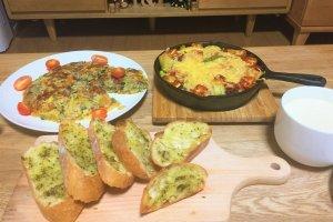 2017-08-23 夏野菜ディナー