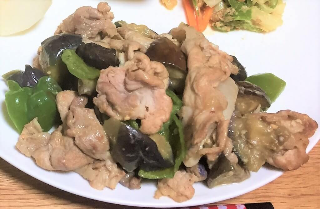 2017-08-21 肉みそ炒め