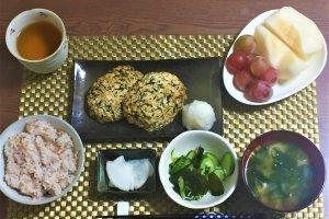 2017-09-25 豆腐ハンバーグ5