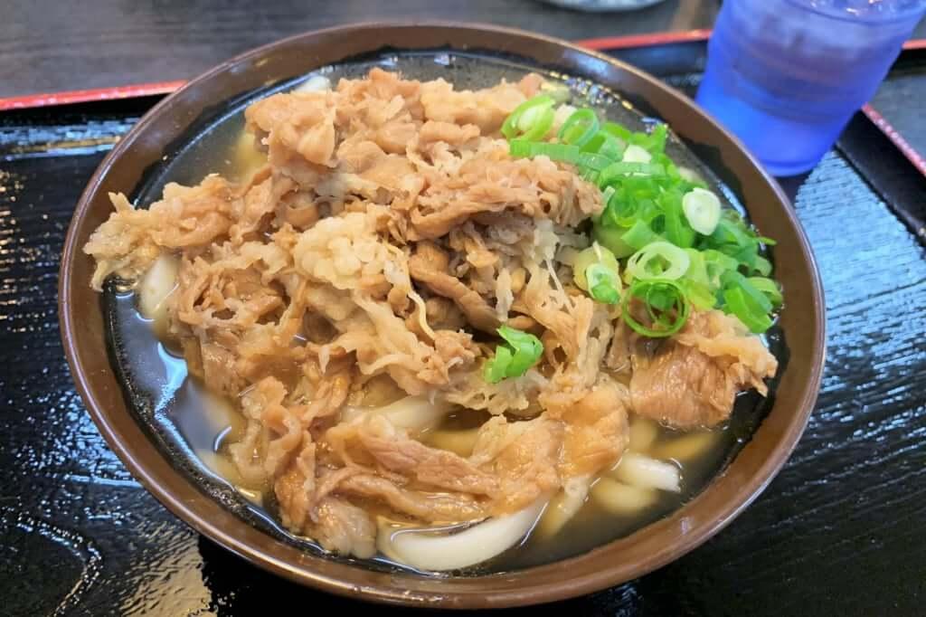 0101_2018-10-11  十日屋 肉うどん
