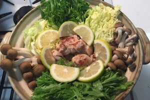 2017-11-04 塩レモン鶏鍋