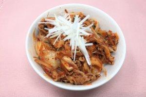 2017-12-19 豚キムチ丼