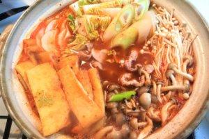 2017-12-25 キムチ鍋