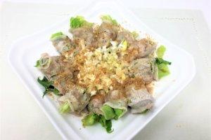2018-03-01 らりるれレタスの豚肉巻きポン酢