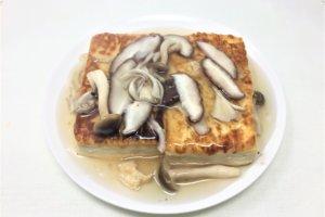 2018-03-08 豆腐ステーキのきのこあんかけ