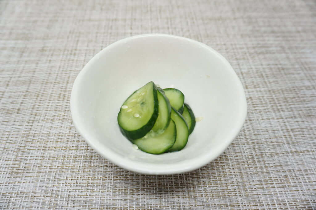2018-06-27 きゅうりの大量消費メニュー