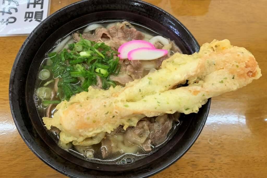 0101_2019-01-17 まき_肉天うどん