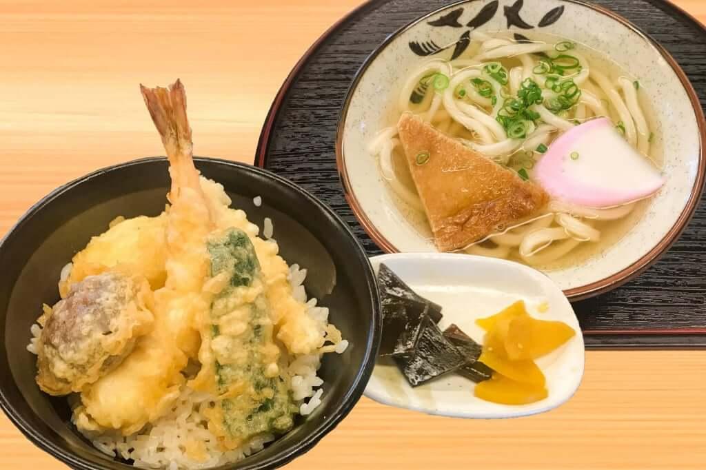 かなくま餅_天丼セット_2019-05-27