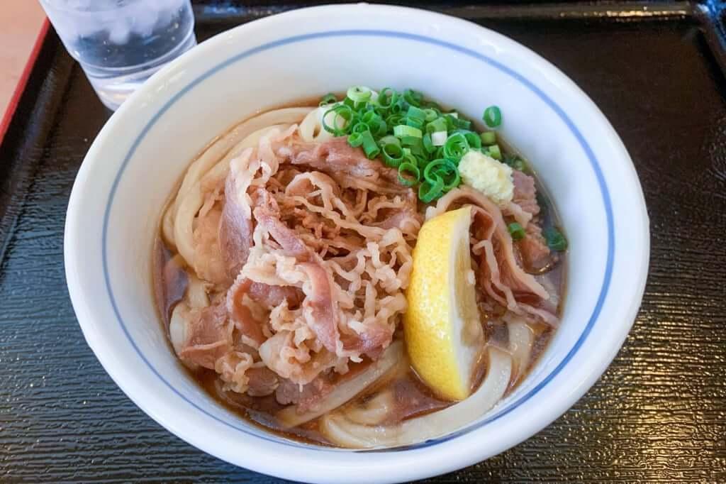 肉ぶっかけ、小_うまじ家_豊浜店