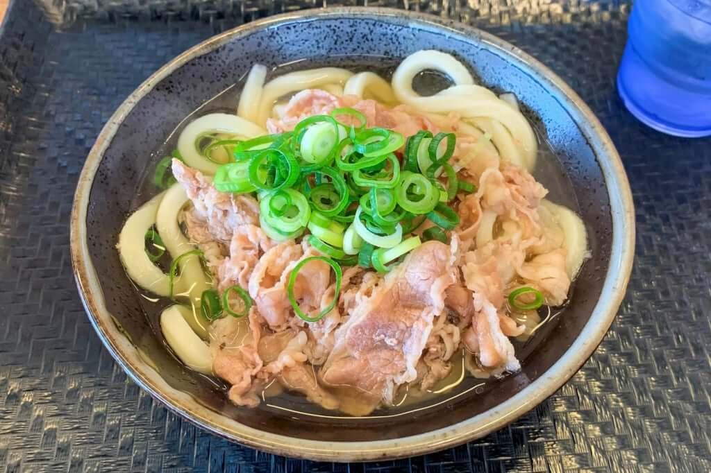 肉うどん_小_こがね製麺所_観音寺店