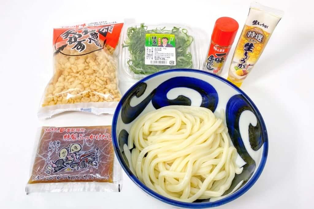 ぶっかけうどん_日の出製麺所_2020-04-25