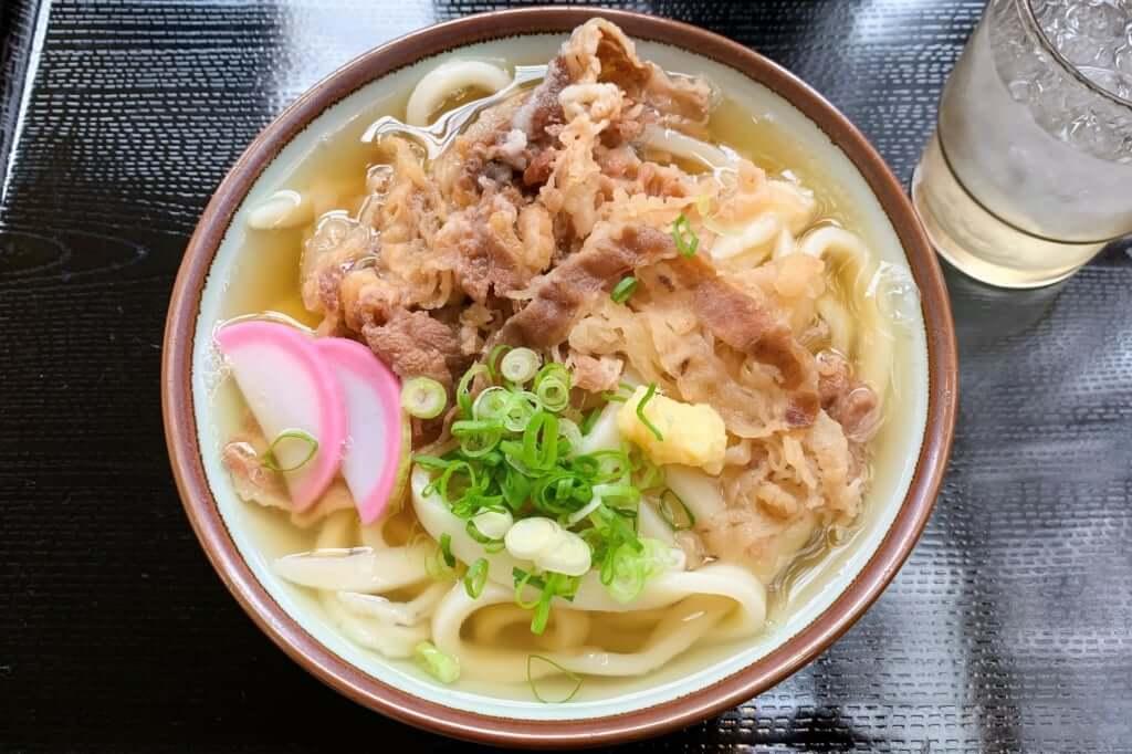 肉うどん_三野うどん いちふじ_2020-03-31
