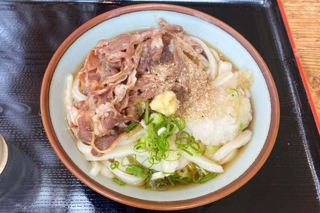 肉ぶっかけ_三野うどん いちふじ_2020-03-31