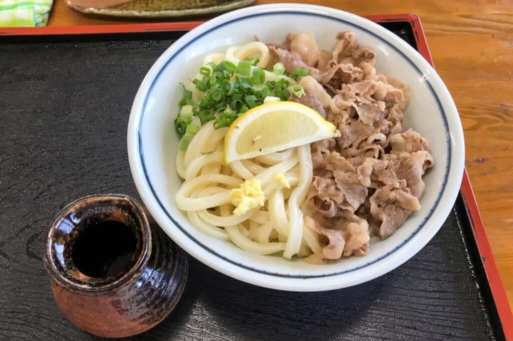 肉ぶっかけ_まるふくうどん_2019-08-24