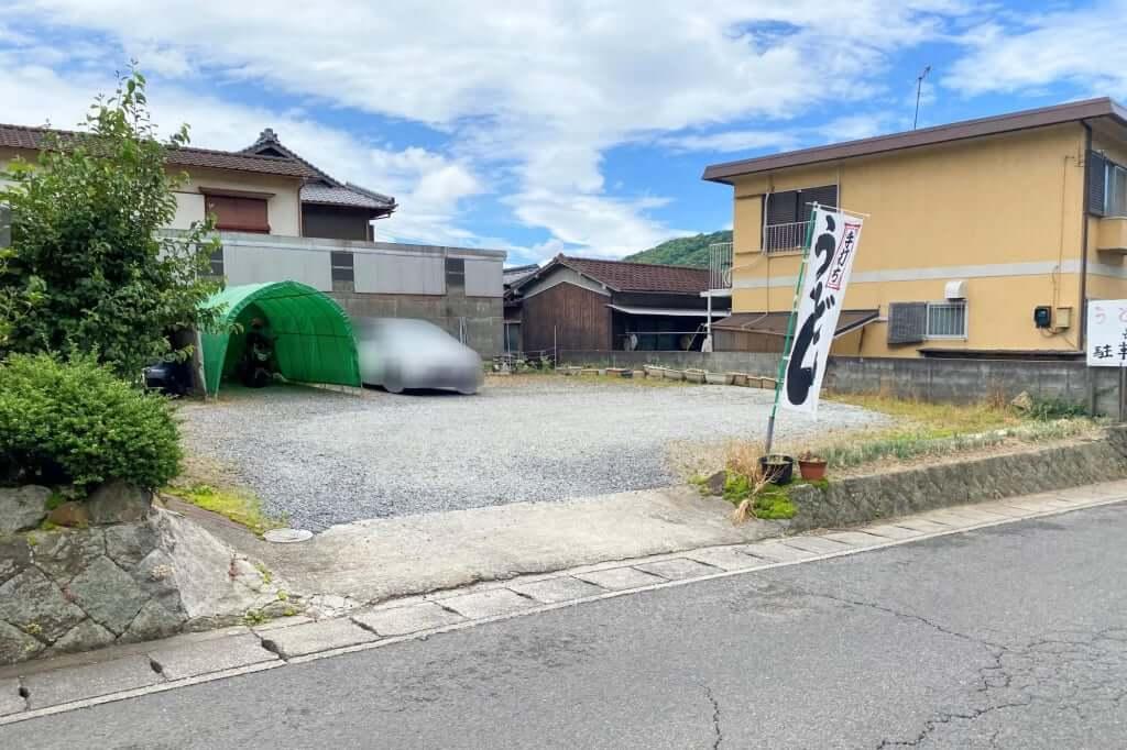 駐車場_長楽製麺所_2020-06-10