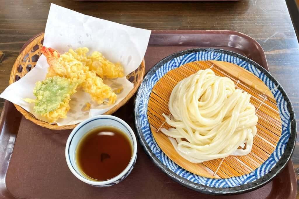 えび天ざる_麺の蔵_2020-07-17