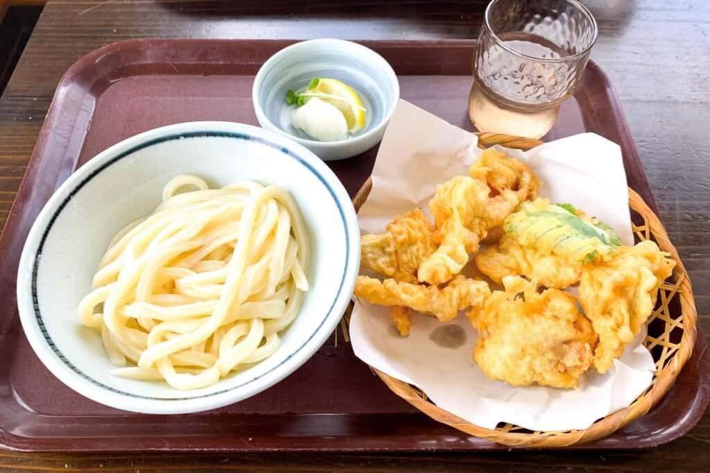 とり天ぶっかけ_麺の蔵_2020-07-17