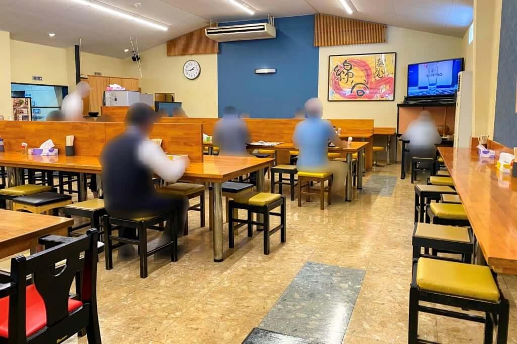 店内の様子_麺処 綿谷丸亀店_2020-07-15