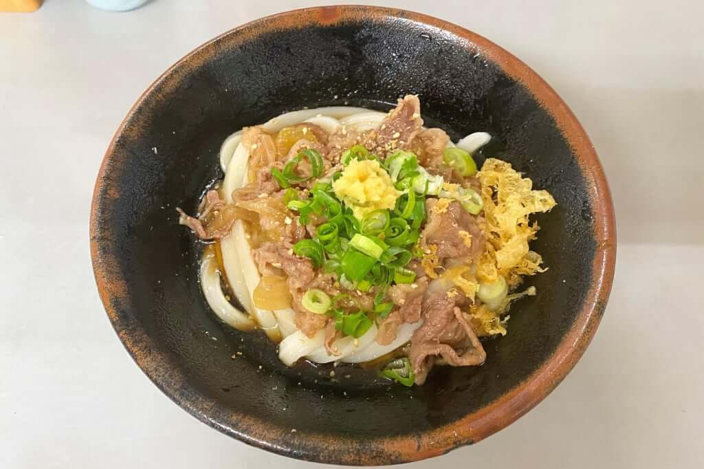 ぶっかけ肉_岡製麵所_2020-07-27