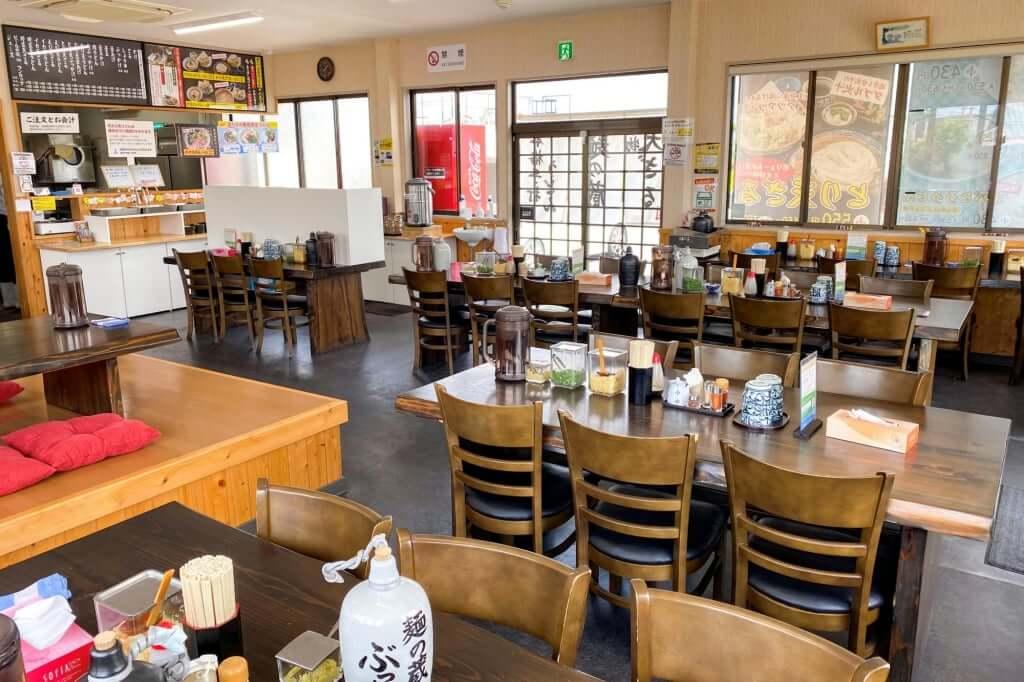 店内の雰囲気_麺の蔵_2020-07-17