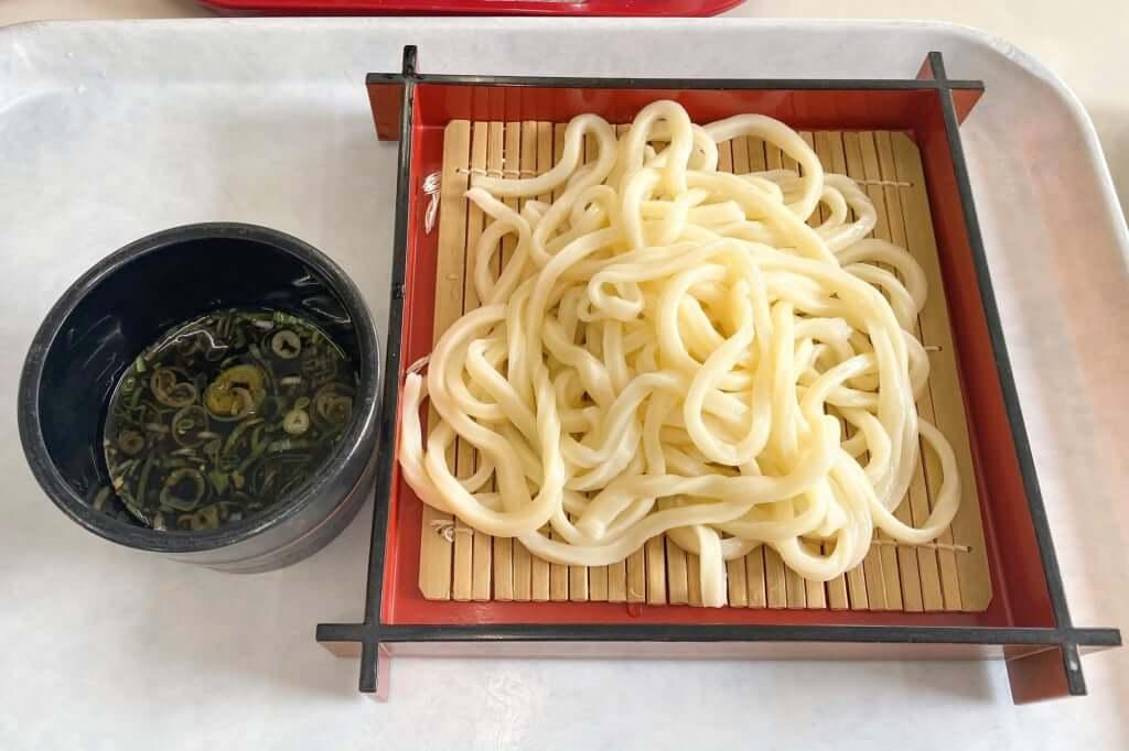 ざるうどん_味覚苑_2020-08-27