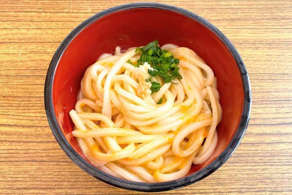 温かい+卵_ゆい製麺所_2020-08-07