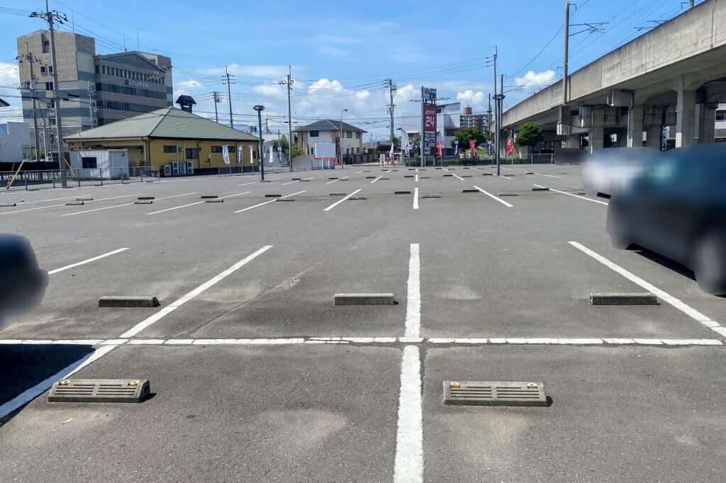 駐車場_讃州製麺_2020-07-29