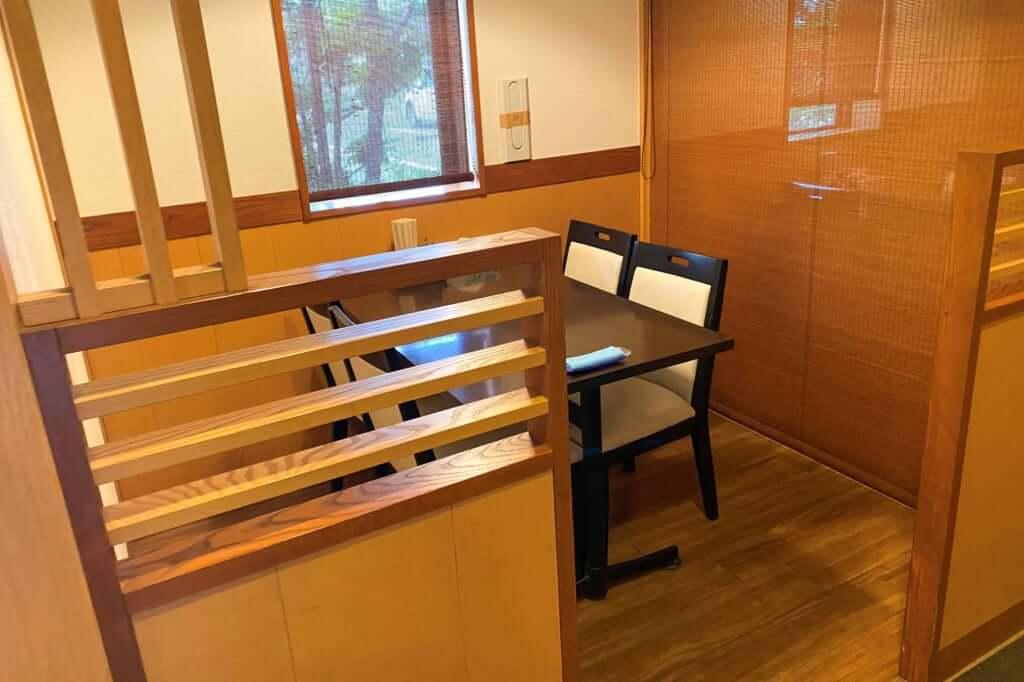 半個室のような_讃州製麺_2020-07-29