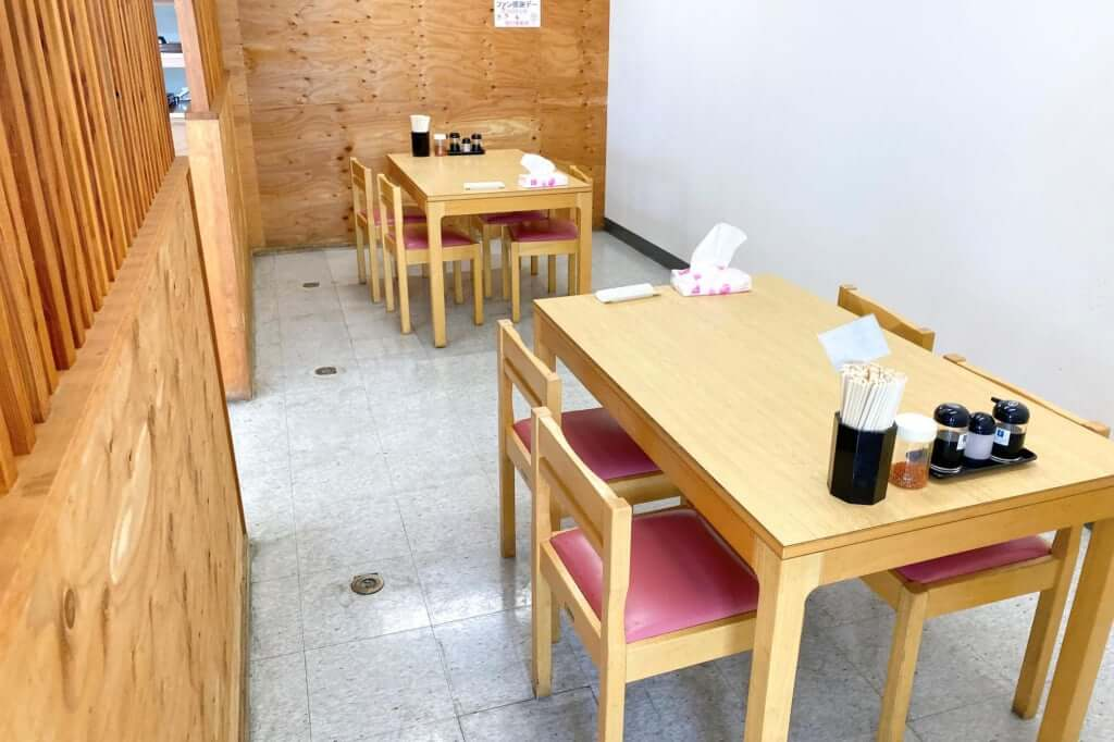 店内の雰囲気_七や製麺_2020-09-01