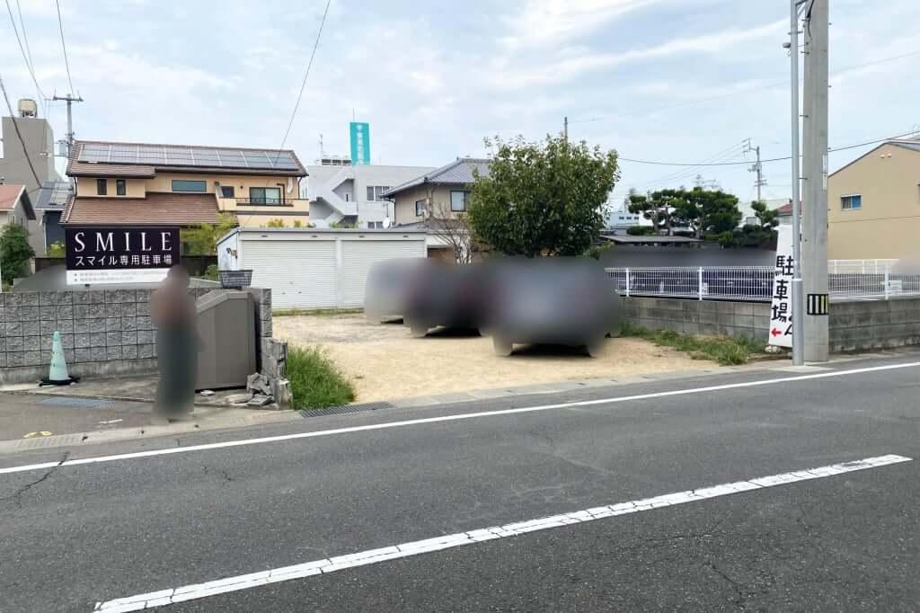 駐車場_大川製麺所_2020-09-09
