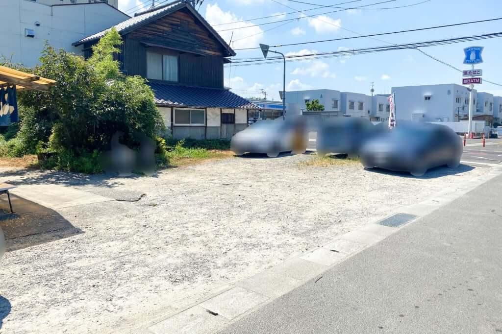 駐車場_讃岐製麺所_2020-09-01
