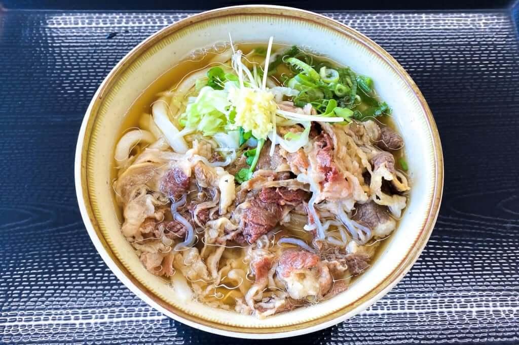 牛肉うどん_七や製麺_2020-09-01