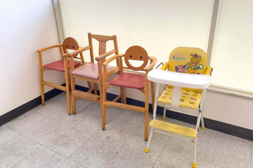 子ども用いす_七や製麺_2020-09-01