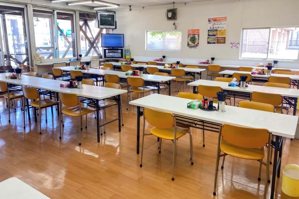 店内の雰囲気_いきいきうどん坂出本店_2020-09-23