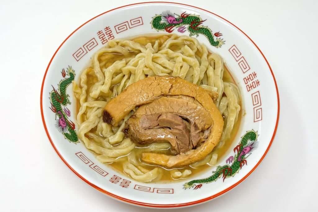 麺を入れる_雷そば_雷本店_宅麺_2020-09-17