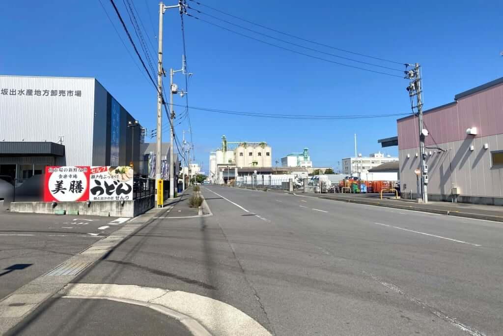 海方向_麺と瀬戸内ぶっかけうどん せんり_2020-10-26