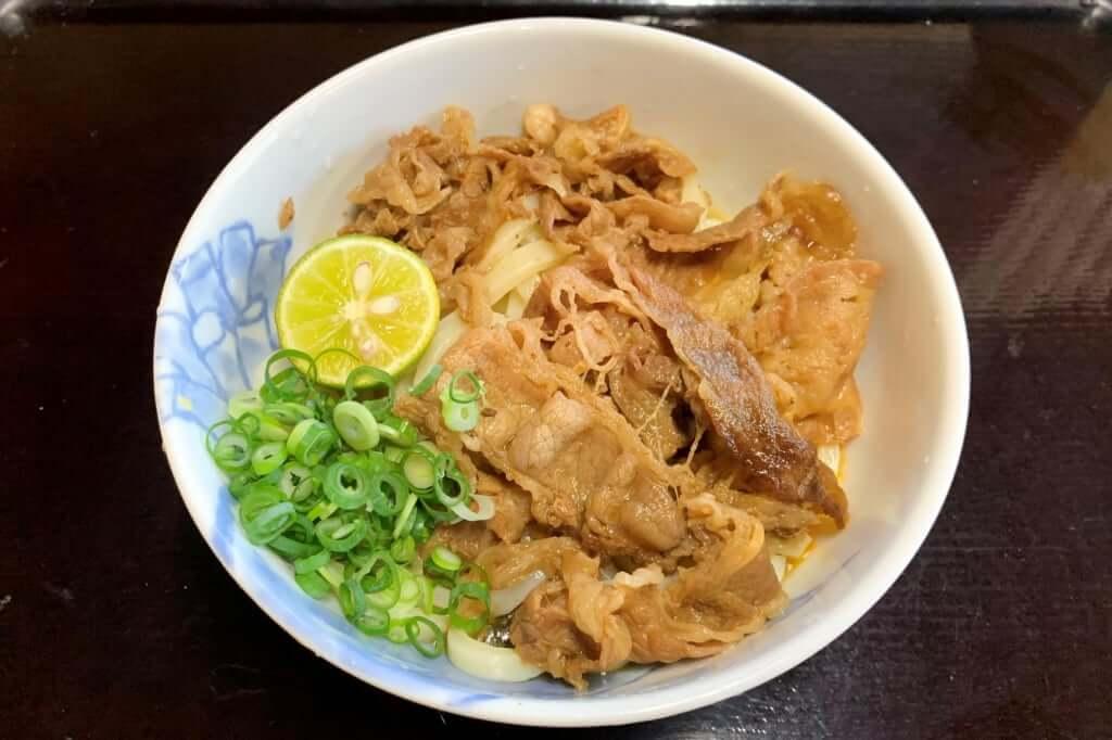 肉ぶっかけ_太郎うどん_2020-09-28