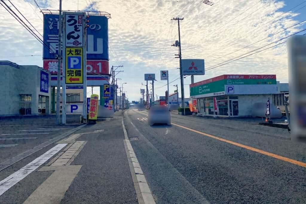 大野原・豊浜方向_こだわり麺や_観音寺店_2020-11-06