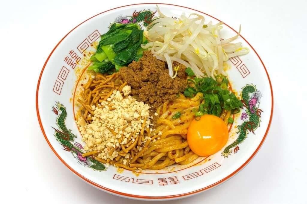 完成_汁なし担々麺_自家製麺ほうきぼし_2020-10-28
