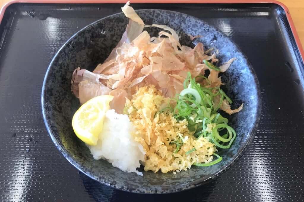 ぶっかけうどん_こだわり麺や_観音寺店_2019-05-30