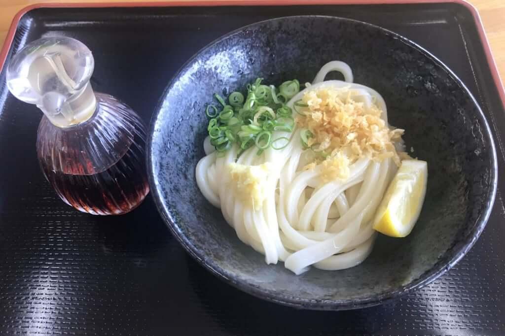 醤油うどん_こだわり麺や_観音寺店_2019-06-18