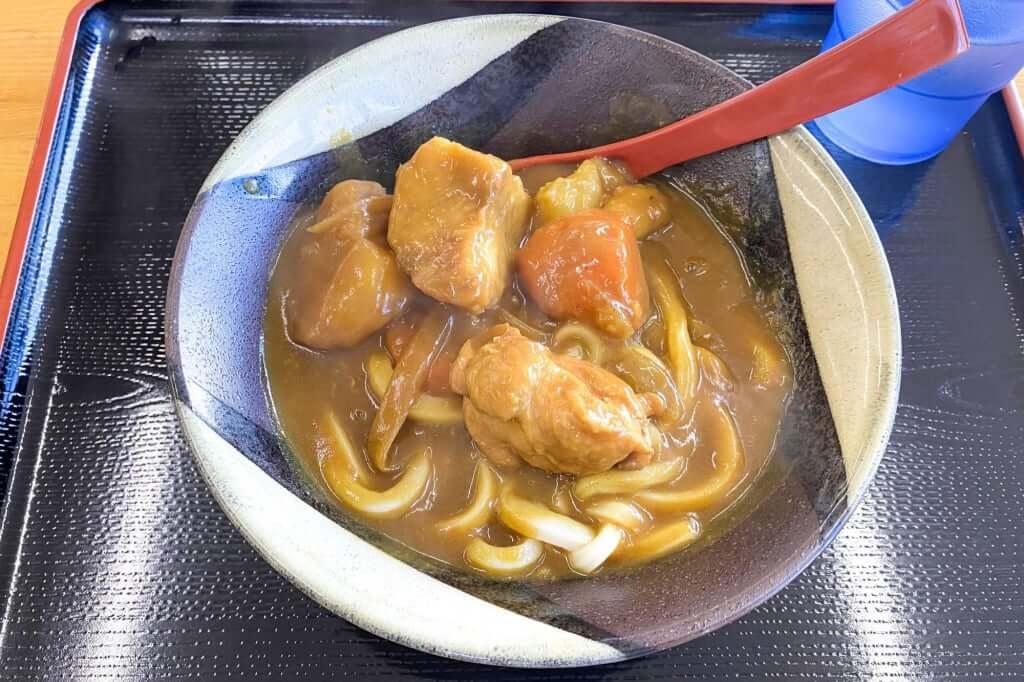 カレーうどん_こだわり麺や_観音寺店_2020-11-06