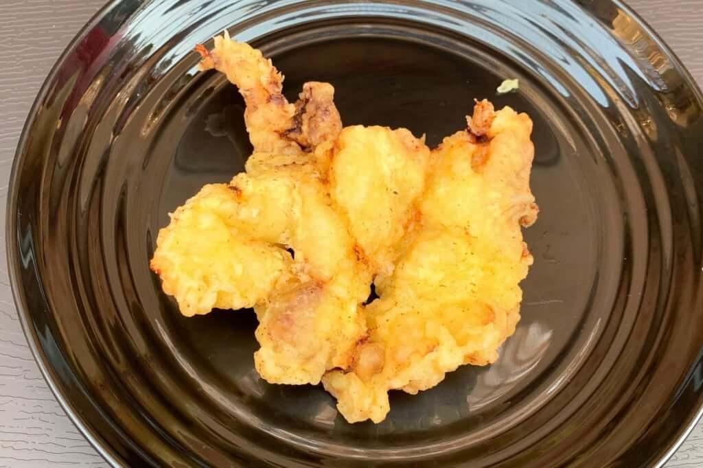 とり天_讃岐麺処 山岡_2020-12-07