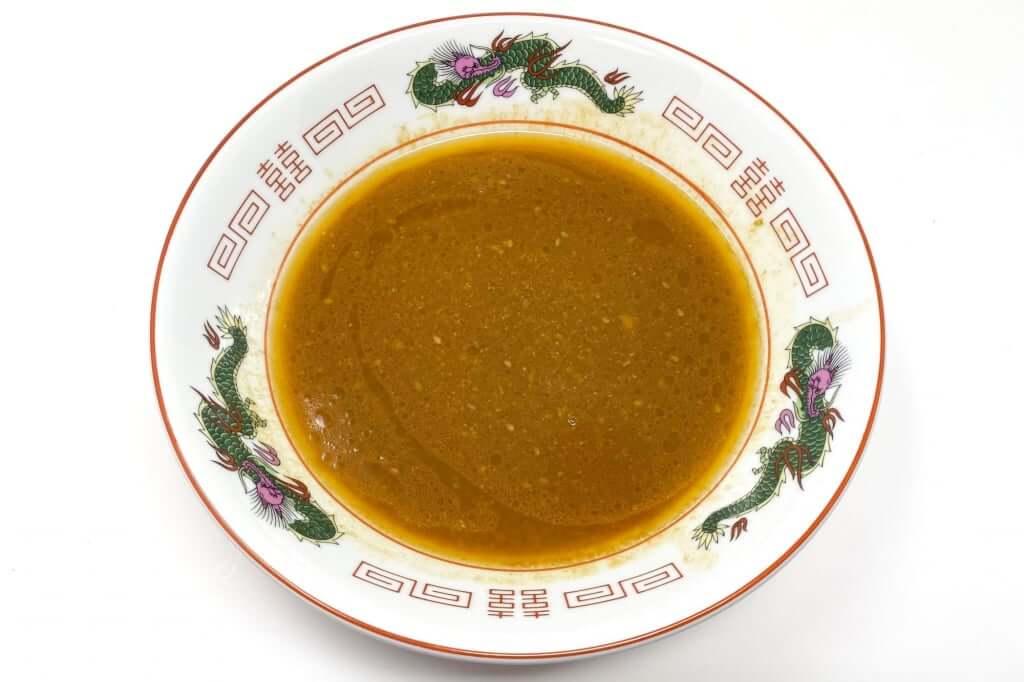 スープのみ_麺屋音別邸_炙り濃厚味噌_2020-12-27