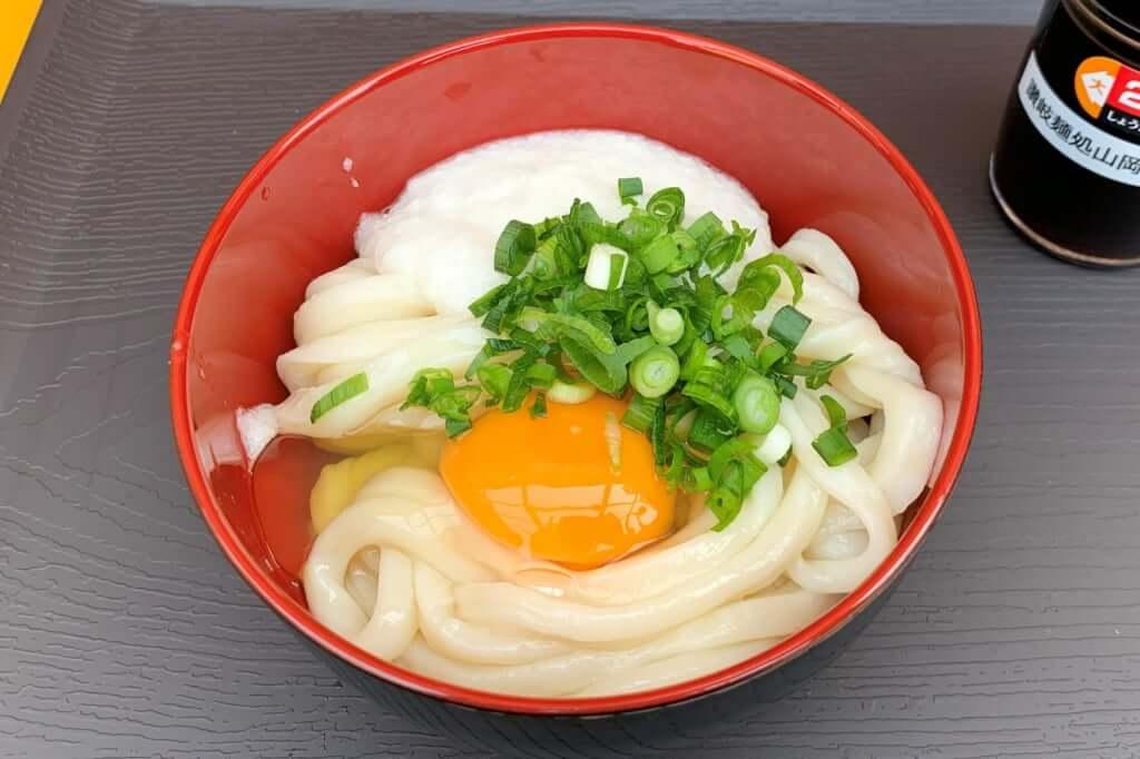 山芋卵醤油うどん_讃岐麺処 山岡_2020-12-07